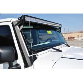 Fixations (x2) pour ETX-PRO 300 pour Jeep Wrangler TJ (1997-2006)