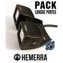 Pack 2xWORK-PRO Longue Portée + Fixation Quad