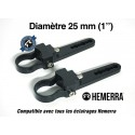 "Paire de fixations pour tube - 25 mm (1"")"